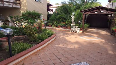 Photo for apartment in a villa in the center of San Leone, 30 meters from the sea