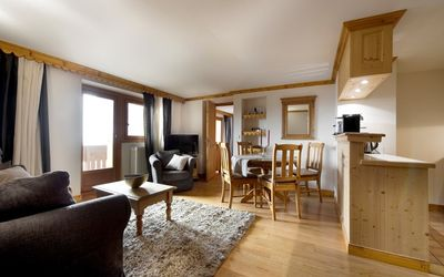 Photo for 58 sqm apartment. 4/5 people in Courchevel 1850