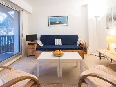 Photo for Apartment 999 m from the center of Carnac with Parking, Internet, Washing machine, Balcony (343475)