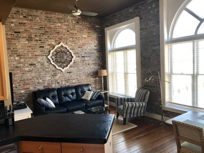 Photo for Telfair Loft 311: Beautiful Condo in Historic Building near City Market