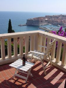 Photo for Villa Branko- Best location and view in town. 6 min. walk to Old Town.