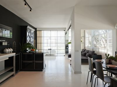 Photo for Black and white Apt 3 bedrooms balcony and parking