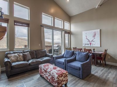 Photo for Large Newly Remodeled Modern Penthouse Condo, Sleeps 8, Minutes To 3 Ski Resorts