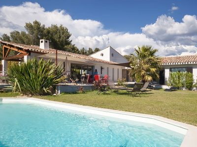 Photo for Sea View Villa on the Bay of Saint Cyr Les Lecques