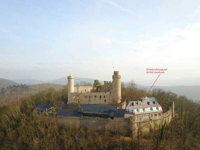 Photo for Castle Auerbach Apartment Nibelungen Max. 8 Pers. - Apartment with 3 bedrooms