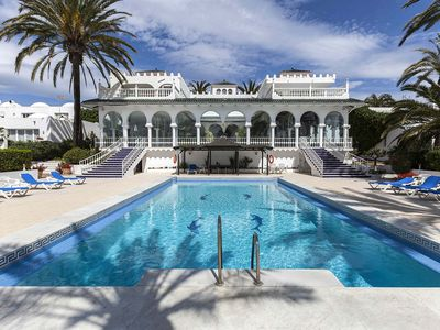 Photo for Beachfront Luxurious Oasis Club Villa on Marbella´s Golden Mile Beach