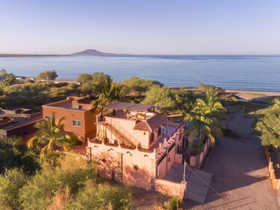 Photo for Beachfront in Town with amazing views, enjoy Loreto without a car.