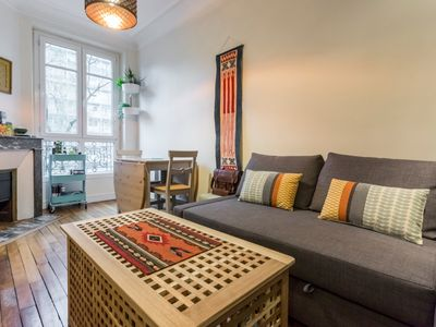 Photo for Cute Parisian Apartment with Character by easyBNB