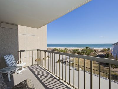 Photo for FREE DAILY ACTIVITIES!! Amazing completely renovated third floor Ocean Front apartment with awesome ocean and beach views that go on forever!