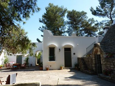 Photo for An idyllic country villa  and trullo with pool. Set in peaceful private grounds.