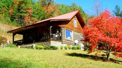fall at the cabin--all season are special.