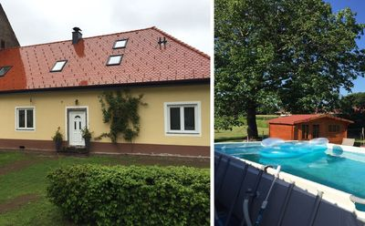 Photo for Holiday flat in a classic South Styrian country house with pool and garden
