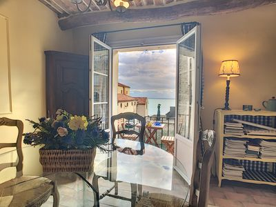 Photo for Charming duplex in the Old Antibes by the Provencal market and the Picasso Museum