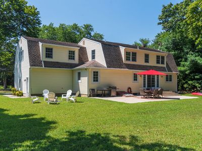 Photo for Elegant and spacious North Fork home; near beaches, vineyards, farms and dining.
