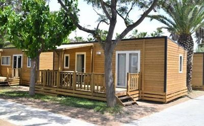 Photo for Camping La Pène Blanche ** - Mobile Home 3 Rooms 4/6 People