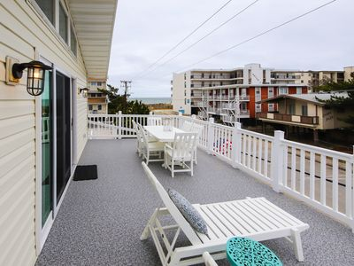 Photo for NEW LISTING! Dreamy beach getaway w/ multiple decks just steps from the sand!