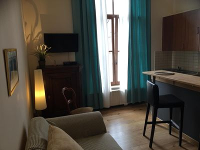 Photo for CHARMING APT IN BRUSSELS CENTER TRENDY AREA