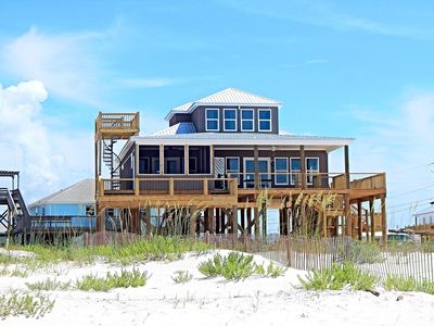 Photo for Family and Pet Friendly New Construction Gulf View Home on Dauphin Island