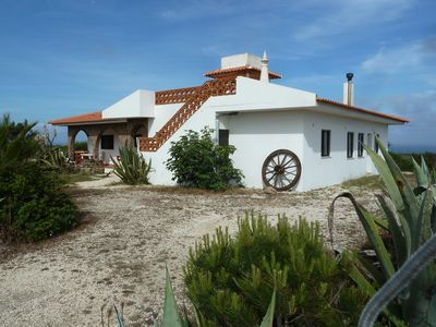 Photo for Holiday home situated on the sea on the western Algarve - Carrapateira, near the beach