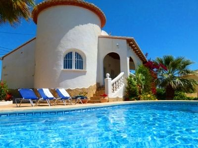 Photo for Beautiful villa with pool in Calpe in Spain on the Costa Blanca