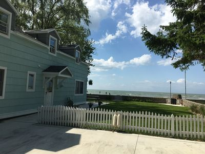 Photo for Lake Front Nautical Themed Home with Private Yard & Sandy Bottom Water Access!