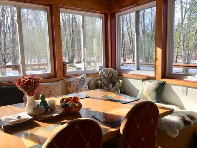 Photo for Mohonk's Peaceful 5BR-3BA~Jacuzzi~Huge Deck~Right On Coxing Kill~ Private Road