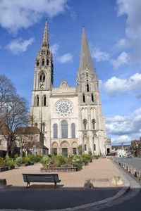 Photo for AT THE FOOT OF THE CATHEDRAL CHARTRES