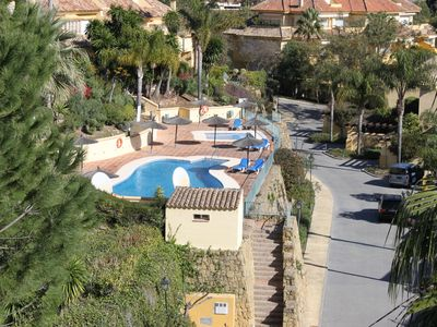 Photo for Luxurious high quality townhouse with sea and golf views close to Marbella