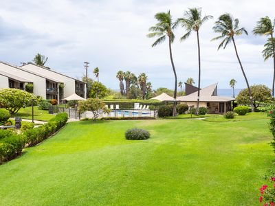 Photo for #218 Second floor condo, easy access to best beach on Maui!