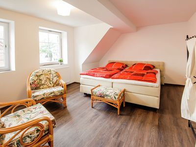 Photo for Spacious four-room apartment in the Hansequartier Wismar