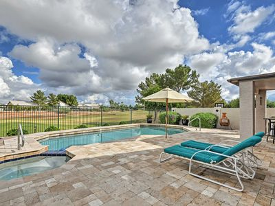 Photo for NEW-Gilbert House w/Pool & Hot Tub on Golf Course!