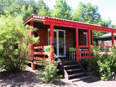 Photo for Camping La Rochelambert **** - Chalet Marina Confort 3 rooms 4/6 people