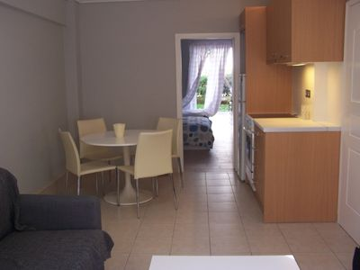 Photo for Cosy aparment with garden near metro station in Halandri.
