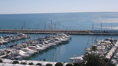 Photo for Front Line Moraira Marina Apartment With Stunning Sea Views