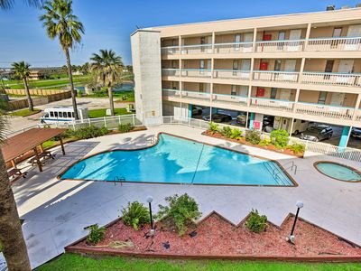 Photo for NEW! Corpus Christi Condo w/Pool - Steps to Beach