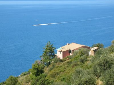 Photo for Poggio del Salice - Apt. Cinque Terre - apartment with terrace - 4 people