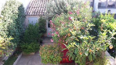 Photo for BEAUTIFUL HOUSE CLOSE TO THE SEA IN THE HEART OF A MEDIEVAL VILLAGE WITH PATIO TREES