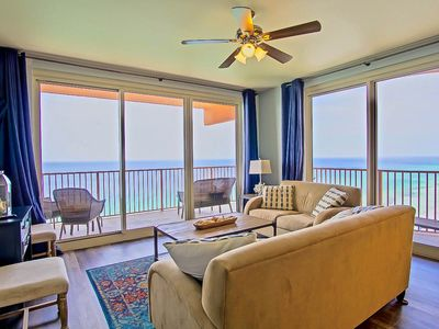 Photo for Incredible View*Corner Unit w/ 2 Kings Suites*Bunk Room*Wrap Balcony