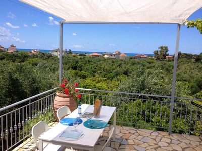 Photo for Homerez last minute deal - Big house with sea view and terrace