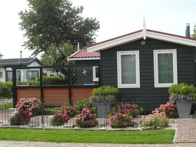 Photo for Nice chalet with garden, near the Wadden Sea