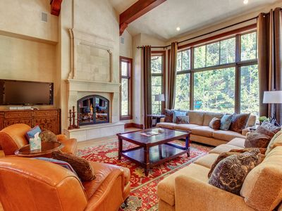 Photo for Gorgeous, large ski-in/ski-out home w/ views, jetted tub, and hot tub - dogs OK!