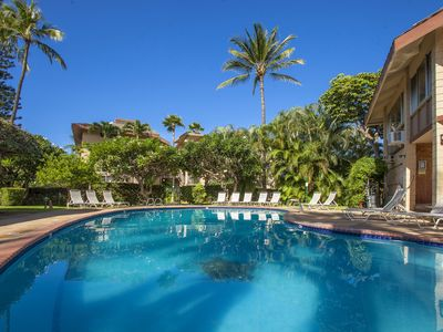 Photo for Steps from Kamaole Beach lll, Haleakala Shores #A-212 Quiet Clean 2 BD 2 Bath