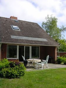 Photo for Sunny house with huge south-facing terrace and garden for 5 people