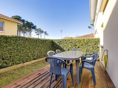 Photo for Biscarrosse Beach in residence with swimming pool duplex apartment 4 people