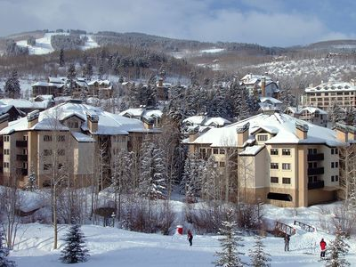 Photo for NEW LISTING!!! Ski-In/Ski-Out Beaver Creek Escape with Hot tub