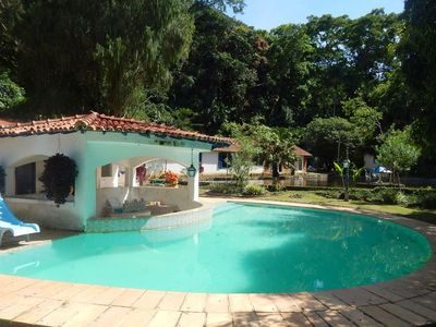Photo for Pet001 - Lovely 20 rooms farm with pool in Petrópolis