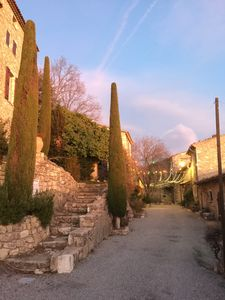 Photo for Gorges du Verdon Charming house 4 pers Village classified Shaded private patio