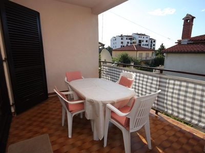 Photo for Two bedroom apartment with terrace Umag (A-7057-a)