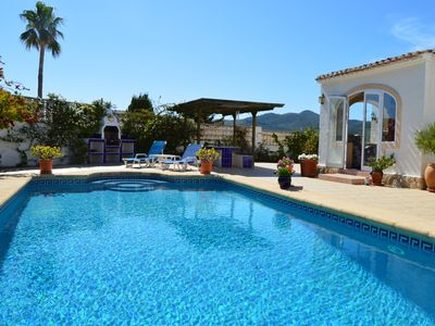 Photo for 3 Bedroom Villa in a quiet location with Private Pool with Air Con in Lounge