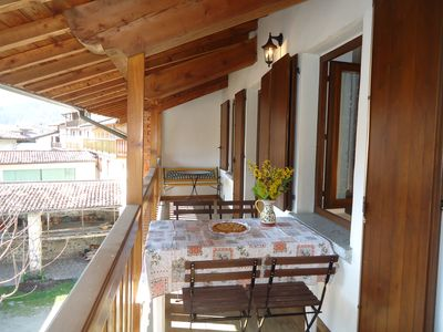 Photo for Casa Enrica type E2, up to 4 people, 200m to the lake, quiet and very romantic location